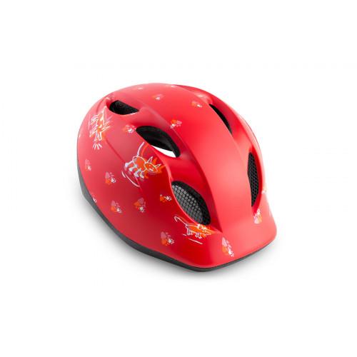 КАСКА MET Super BUDDY Red Animals 52-57