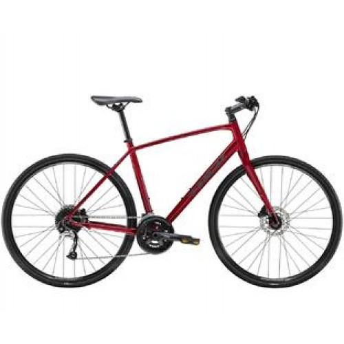 Велосипед Trek-2021 FX 3 Disc червоний