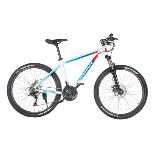 Велосипед Trinx M100 бело-синий