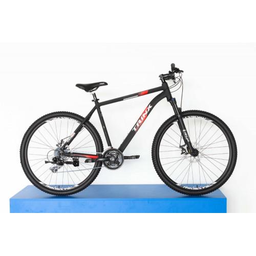 Велосипед Trinx X1E черно-красный