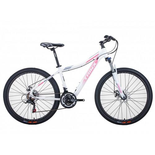 Велосипед Trinx N106 бело-розовый
