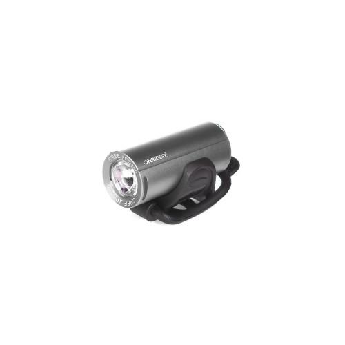 Світло переднє ONRIDE Cub USB 200 Люмен сірий
