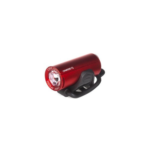 Світло переднє ONRIDE Cub USB 200 Люмен червоний