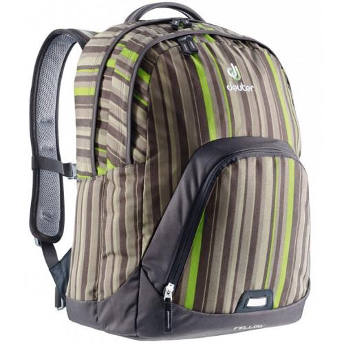 Рюкзак DEUTER FELLOW mocha stripes-mocha