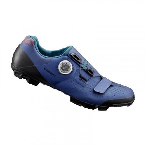 Велотуфли женские SHIMANO XC501WN синие