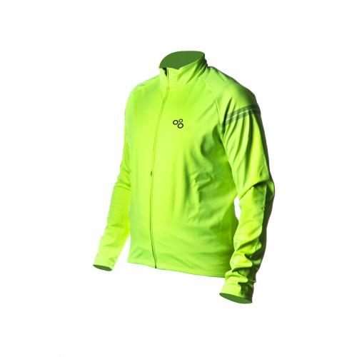 Велокуртка ONRIDE CASE колір неоново-зелений р.EU L (Р.вироб. XL)