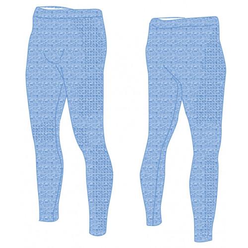 Термобілизна дитяча R2 Bassy (штани довгі) Синій melange 10Y