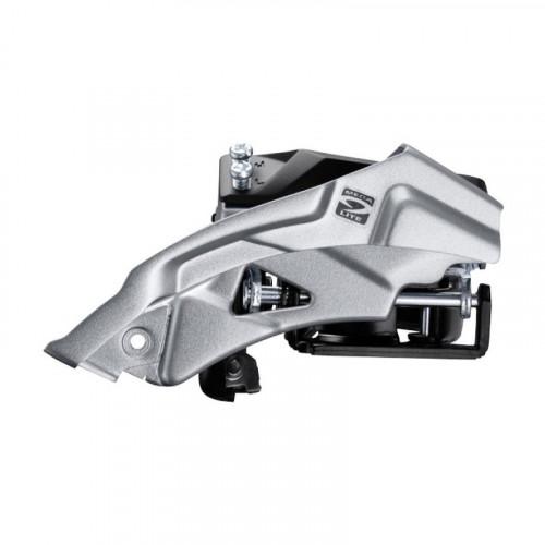 Переключатель передний SHIMANO FD-M2000 ALTUS 3X9, TOP-SWING, 34,9/31,8/28,6мм адапт, універс.тяга, для 40зуб