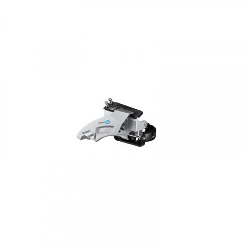 Переключатель передний SHIMANO FD-M315 ALTUS 2X8/7, TOP-SWING, 34,9/31,8/28,6мм адапт, универс.тяга, для 36зуб
