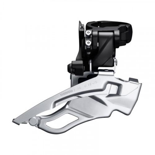 Переключатель передний SHIMANO FD-T6000-H, DEORE 3X10, для 44/48, HIGH CLAMP, DOWN-SWING, DUAL-PULL хомут, чорн