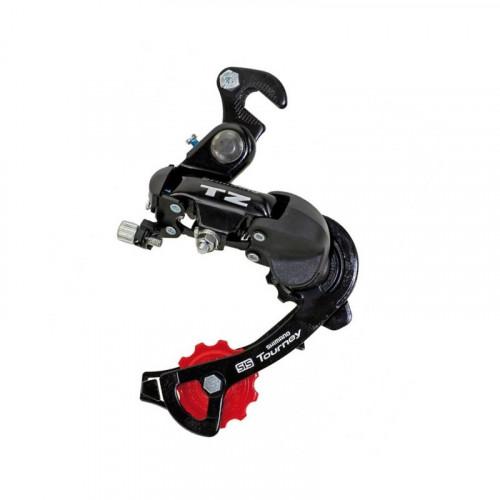 Перемикач задній RD-TZ500-B TOURNEY 6-швидк, крюк