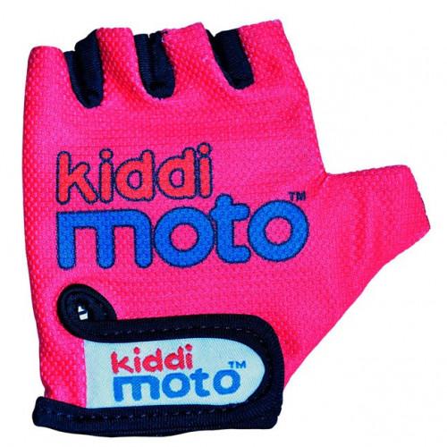Перчатки детские неоновые розовые, размер M на возраст 4-7 лет