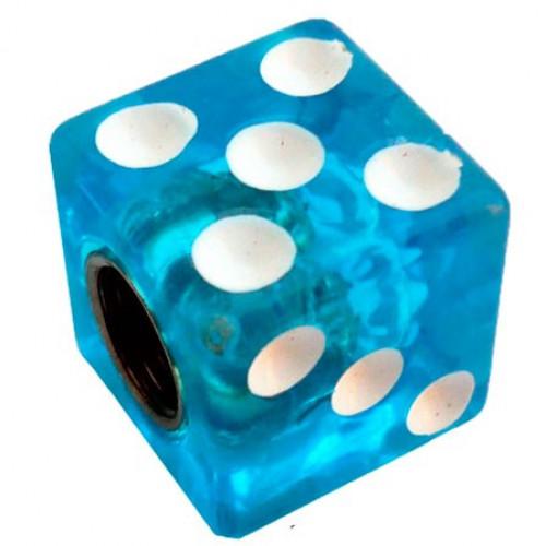 Колпачок на ниппель Игральная кость синяя