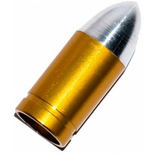 Колпачок на ниппель Пуля золото Presta
