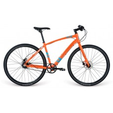 "Велосипед 28"" Apollo TRACE 45 HI VIZ 2017 Gloss Orange/Gloss Teal/Reflective"