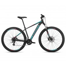 Велосипед Orbea MX 29 60 2019  Black - Turquoise - Red